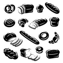 Bread Set. Vector
