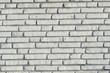 Weisse Ziegelsteinmauer, Ziegelsteine