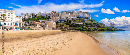 beautiful Sperlonga town with great beaches. Vacations in Italy