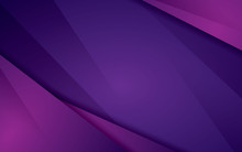 Abstract Modern Vector Background Overlap Layer Purple Background