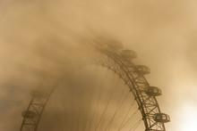 London Eye In Mist, London, England, UK