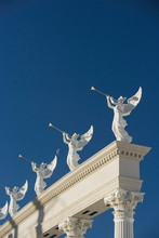 Architectural Detail, Caesars Palace, Las Vegas, Nevada, United States Of America, North America