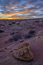 Sunrise Over Sandstone Formati...