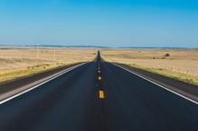 Route Two Through Nebraska, United States Of America, North America