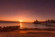 Sunrise At Eastbourne Pier, Ea...