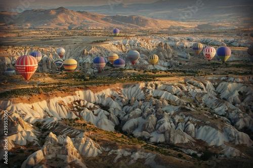 Spoed Foto op Canvas Grijze traf. Turchia Cappadocia