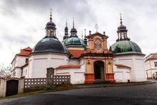Baroque Klokoty Church And Clo...
