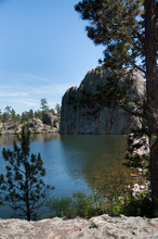 Legion Lake In Custer State Pa...