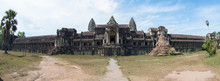 Angkor Wat Under Cloudscape, Siem Reap, Cambodia