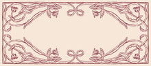 Vector Image Of Decorative Fra...
