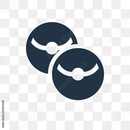 Photo  Pokeballs vector icon isolated on transparent background, Pokeballs  transparenc