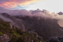 Clouds Over Table Mountain In ...