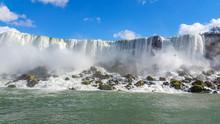 Enthusiastic Stream Of Niagara Falls