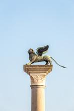 Venice Lion Statue