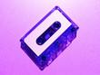 canvas print picture - Lavender Cassette