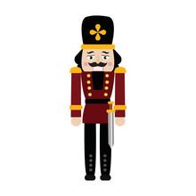 Cute Nutcracker Soldier