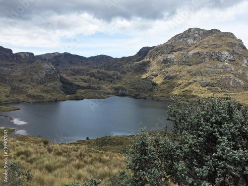 Fotografía  Laguna Toreadora - Parque Nacional El Cajas