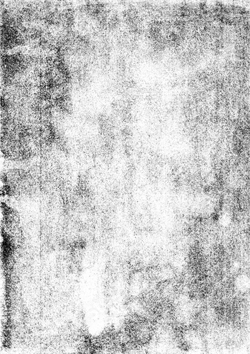 Grainy Photocopy Texture Canvas Print
