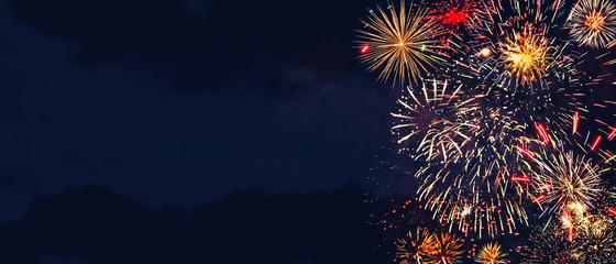 FototapetaWunderschönes Feuerwerk