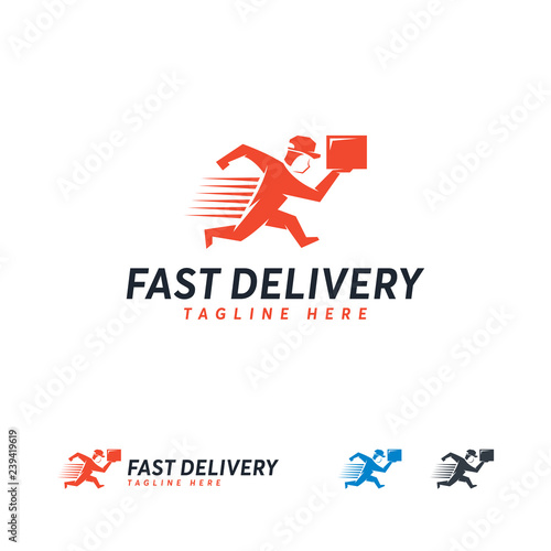 Fast Delivery logo designs concept vector, Express Delivery logo template