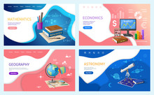 School Or College Subjects, Stationery And Books