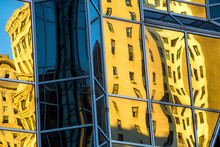 Abstract Reflections Of Buildi...