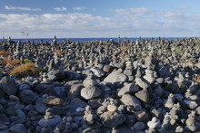 A Field Of Balancing Rock And ...