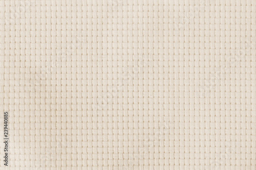 Fotografiet  Aida fabric cloth for cross-stitch (cross-stich) embroidery handcrafts with squa