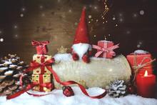Weihnachtsgeschenke Mit Wichte...