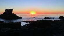 Nice Sunset Over Catalina Isla...