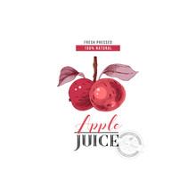 Apple Juice Logo Template
