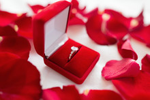 Jewelry, Proposal And Romantic...