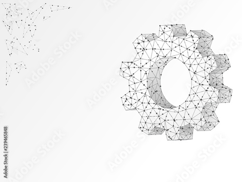 Gears Industry Development Engine Work Business Solution Concept