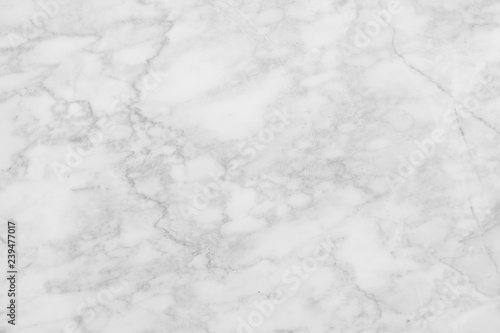 Staande foto Stenen White marble patterned texture background. Marbles abstract natural black and white grey for interior design.