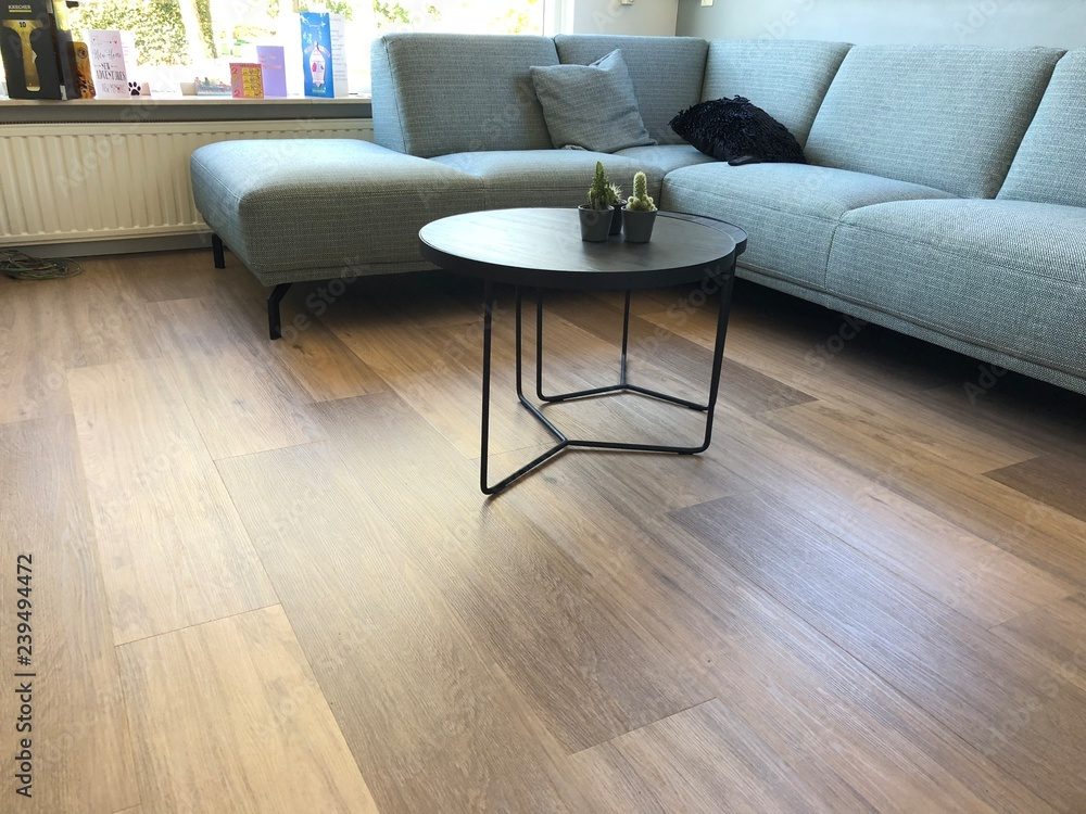 Fototapeta PVC flooring with decoration