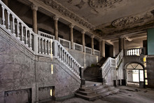 Abandoned Hall Of A Rich Hotel...