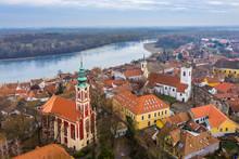 Szentendre, Hungary - Aerial S...