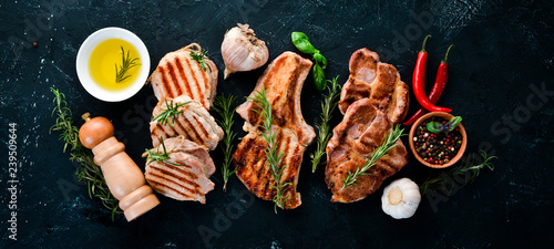 Photo  Grilled Meat