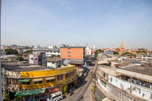 Poster Seoel Bangkok old town near Rama VIII bridge