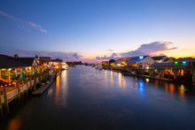 Shem Creek In Mount Pleasant S...