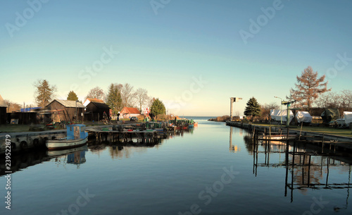 Plakat Port w Neuendorf