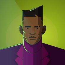 Illustration Of Fashionable Man