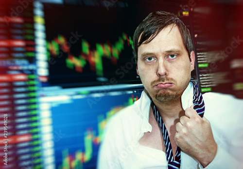 Stress on the stock market
