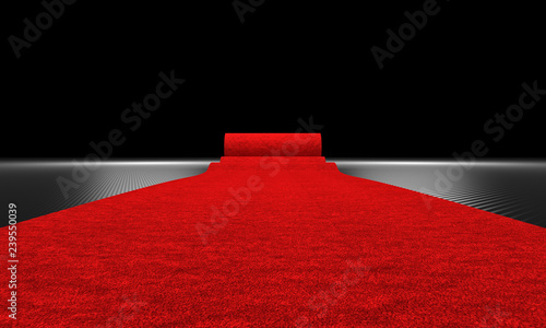 red carpeta and carbon background © tiero