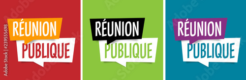 Fototapeta Réunion publique obraz