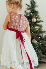 Young Girl In Flora Dress