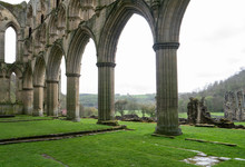 Arches Of Rievaulx Abbey In He...