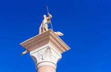 View Of The Venetian Statue Of...