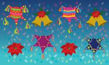 Christmas, Piñata, Bells And ...