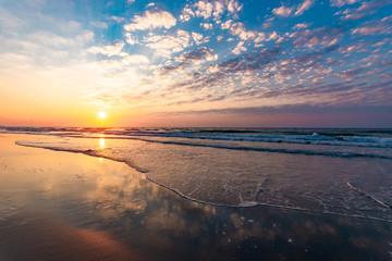 Ocean Sunrise Colors